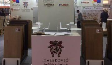 Galeković po prvi put izlagao u Kini na Domotex Shanghai, 21.-23.03.2017.